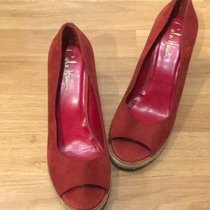 Cole Hann wedged heels